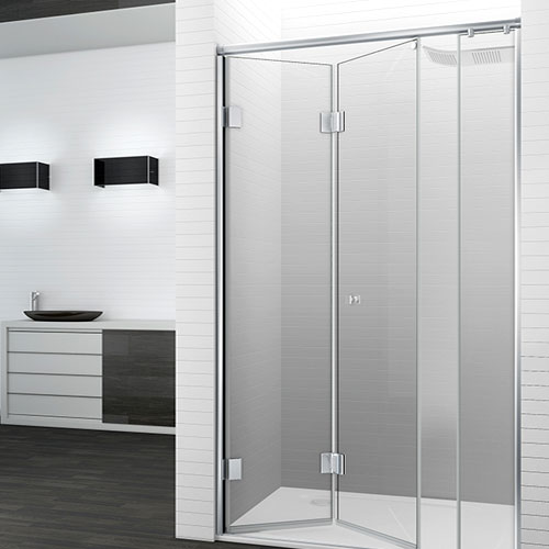 mampara-ducha-plegable-bisagra-aluminio